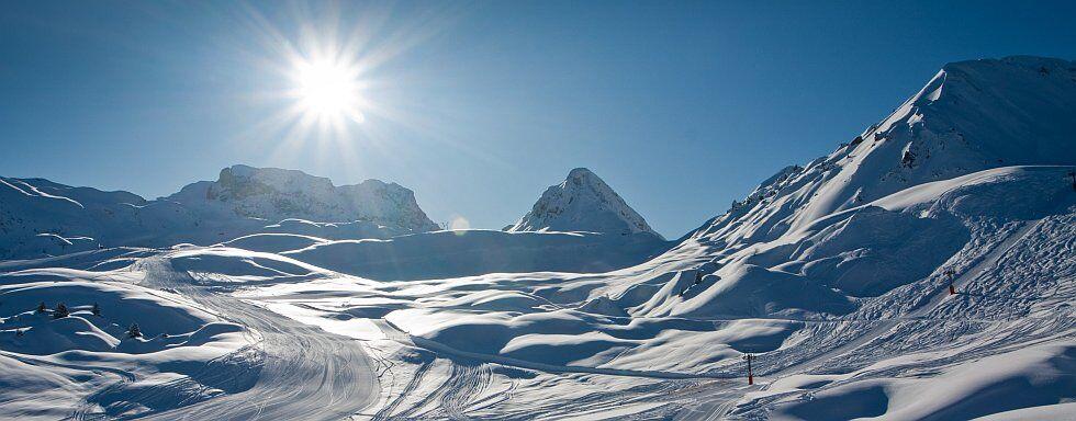 passer de belles vacances à la neige en montagne à la Plagne