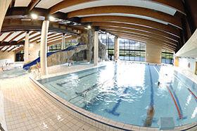 Le lagon, piscine à Tignes