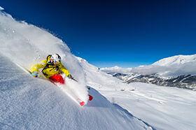 ski freeride à Tignes