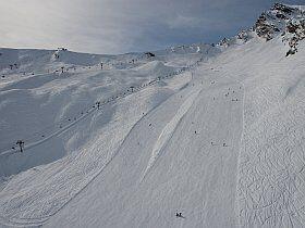 pistes de ski du Cirque du Lys