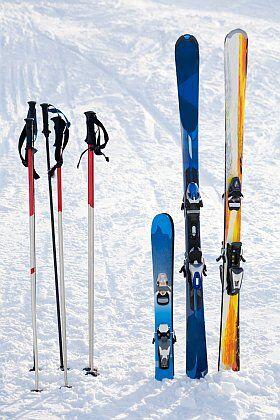 matériel de ski à louer avec Odalys