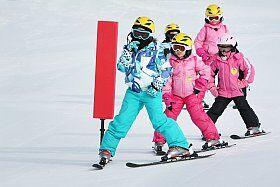 cours de ski pour enfants à Cauterets