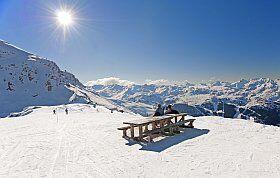 pique-nique au coeur des sommets des Pyrénées