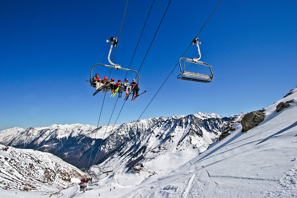 domaine skiable du Cirque du Lys en vacances à Cauterets