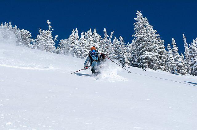 ski hors-piste au Cirque du Lys à Cauterets