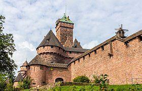 Un château dans les Vosges