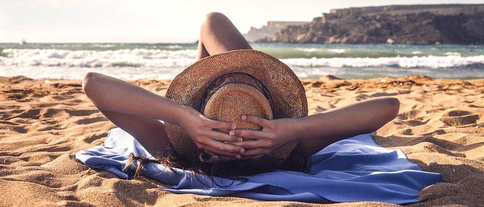 Farniente sur la plage