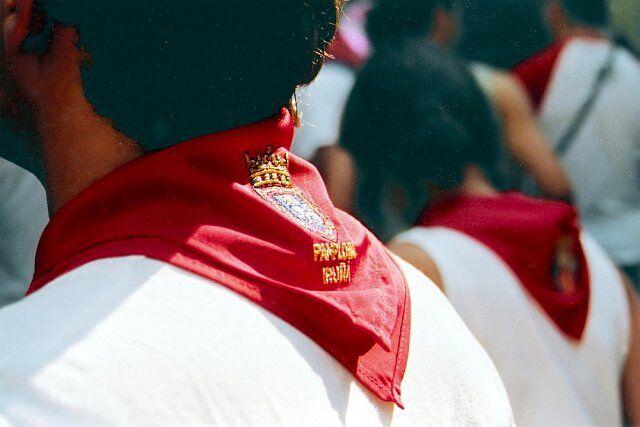 écharpe traditionnelle basque