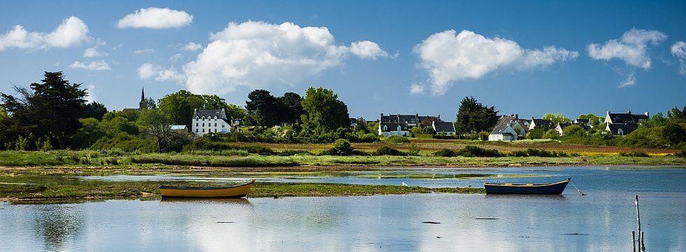 L'île d'Arz, dans le Golfe du Morbihan