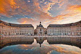 Bordeaux et la place de la Bourse