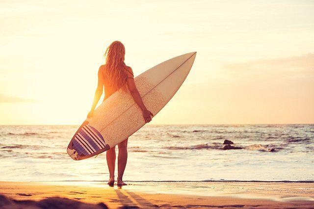 Le surf et autres sports nautiques sur la côte Atlantique
