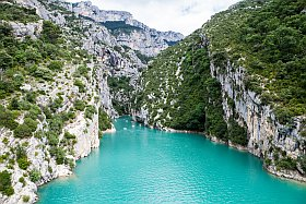 les gorges du Verdon: 100% naturel