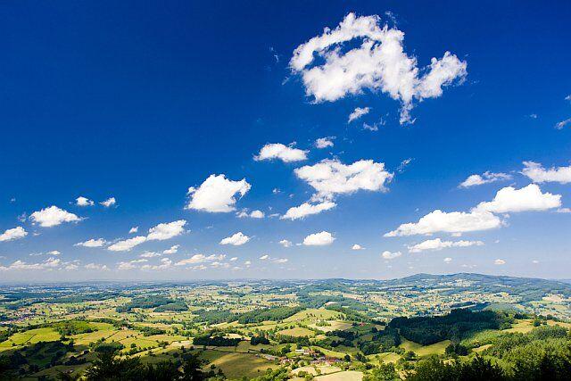 paysages naturels en Bourgogne