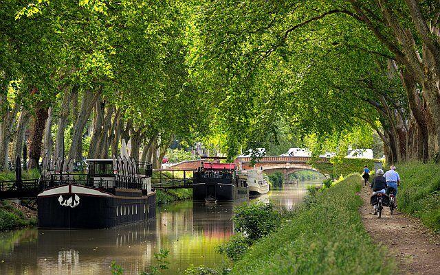 canal du midi en vacances Languedoc Roussillon