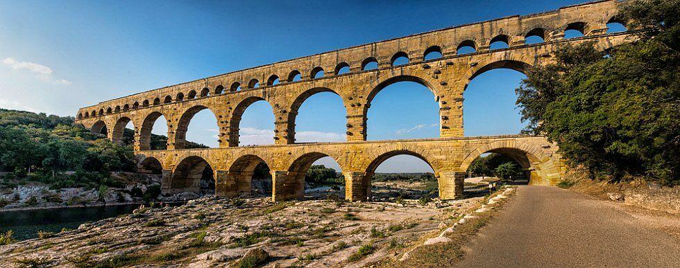 Pont du Gard en Languedoc Roussillon