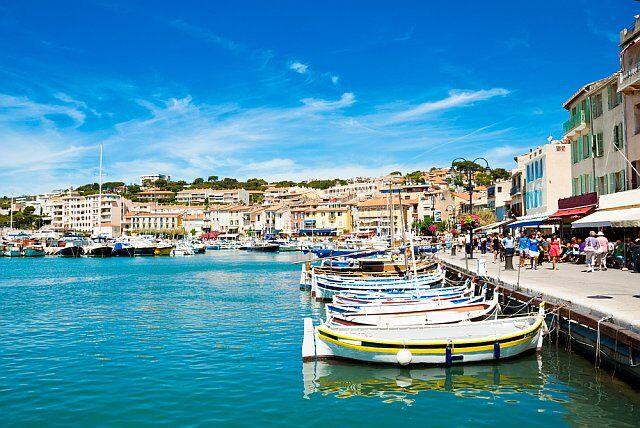 votre camping en Méditerranée: destination Cassis