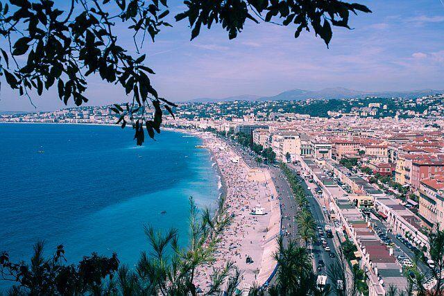 promenade des anglais près de votre camping méditerranée