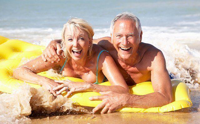 vacances à la mer pour les seniors