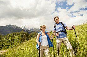 vacances sportives seniors en randonnée
