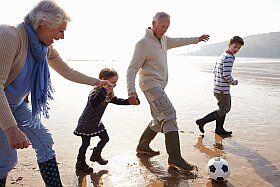 Emmenez vos petits-enfants au bord de la mer!