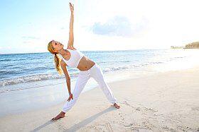 du yoga pour les vacances