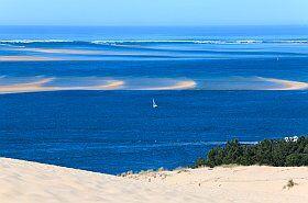 la dune du Pilat au Bassin d'Arcachon site naturel de France
