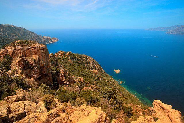 randonnée littorale Cap Corse