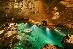 Les lacs souterrains du Gouffre de Padirac